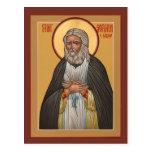 St. Seraphim of Sarov Prayer Card Postcard