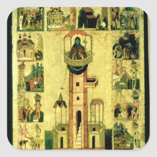 St. Simeon, 16th century Square Sticker