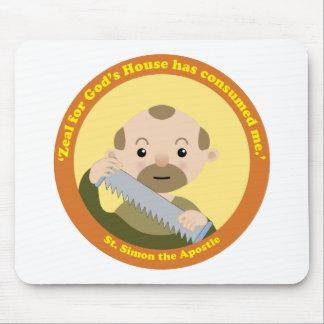 St. Simon the Apostle Mouse Pad