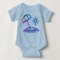 St. Simons Island GA baby bodysuit