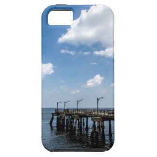 St Simon's Island Georgia Public Dock iPhone SE/5/5s Case