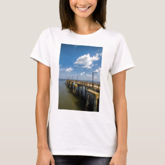 St Simon's Island Georgia Public Pier T-Shirt