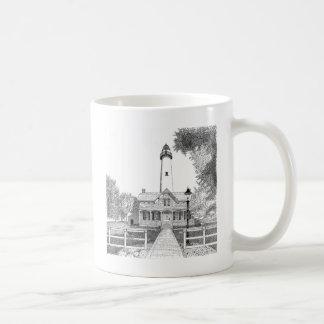 St. Simons Lighthouse Classic White Coffee Mug