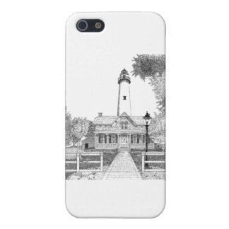 St. Simons Lighthouse Cases For iPhone 5