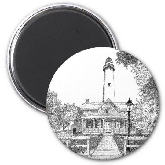 St. Simons Lighthouse Magnet