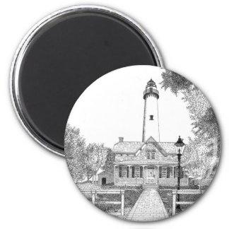 St. Simons Lighthouse Magnets