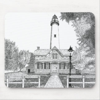 St. Simons Lighthouse Mouse Pad