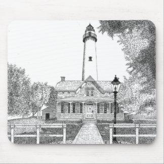 St. Simons Lighthouse Mouse Pads