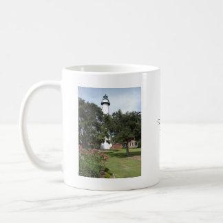 St. Simon's Lighthouse Coffee Mugs