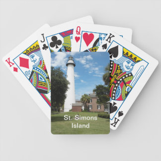 St. Simons Lighthouse Playing Cards