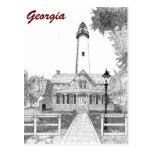 St. Simons Lighthouse Postcards