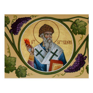 St. Spyridon Prayer Card