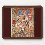 St. Stanislaus Bishop And King Sigismund Tomicki Mouse Pad