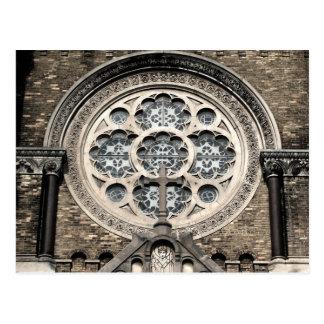 St. Stanislaus Church Window Postcard