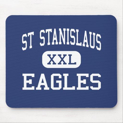 St Stanislaus Eagles Winona medio Minnesota Alfombrilla De Raton