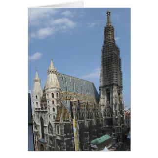 St. Stephan de Domkirche de la catedral de St Tarjeta Pequeña