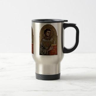 St Stephen By Giotto Di Bondone Mugs