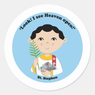 St. Stephen Classic Round Sticker