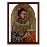 St Stephen de Giotto Di Bondone Postal