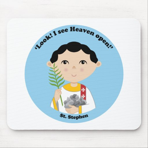 St. Stephen Mouse Pad