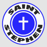 St Stephen Pegatina Redonda
