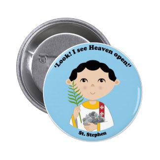 St. Stephen Pinback Button