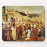 St. Stephen Preaching Mouse Pad