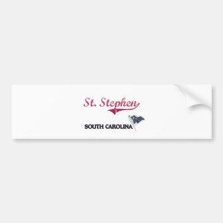 St. Stephen South Carolina City Classic Car Bumper Sticker
