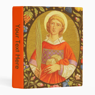 St. Stephen the ProtoMartyr (PM 08) Mini Binder