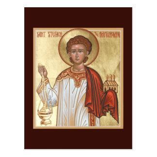 St. Stephen the Protomartyr Prayer Card