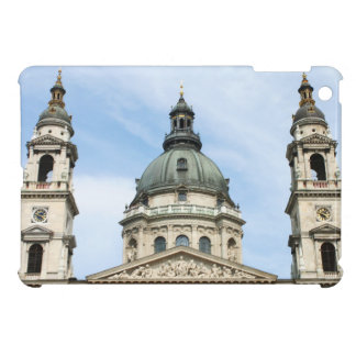 St Stephens Basilica and ClockTower in Budapest Cover For The iPad Mini