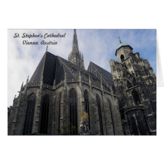 St. Stephen's Cathedral Card