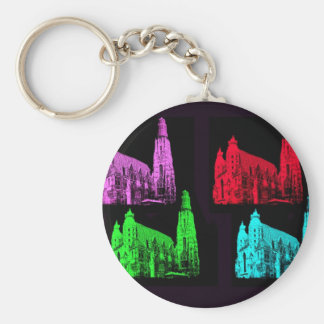 St. Stephen's Cathedral Collage Keychain