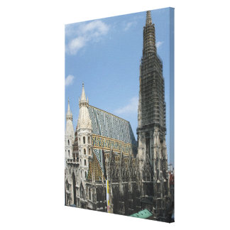 St. Stephen's Cathedral Domkirche St. Stephan Canvas Print