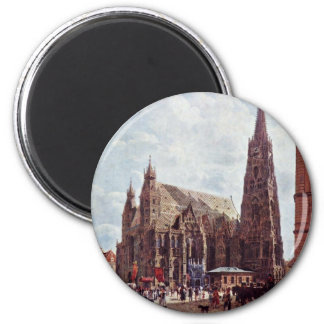 St. Stephen'S Cathedral From Stock Im Eisen Fridge Magnets