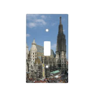 St. Stephen's Cathedral, Vienna Austria Light Switch Cover
