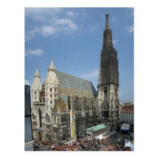 St. Stephen's Cathedral, Vienna Austria Postcard