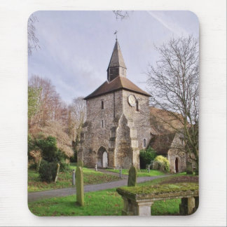 St Stephens Church In January Mouse Pad
