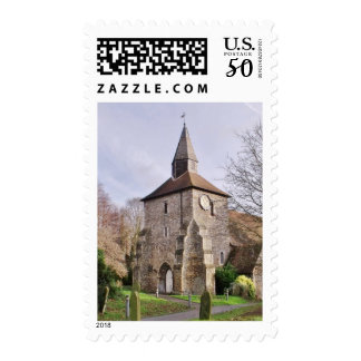 St Stephens Church In January Postage