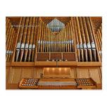 St Stephen's Church organ, Seattle, postcard