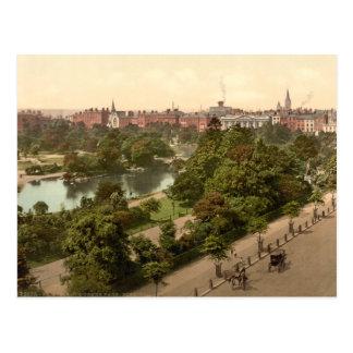 St Stephen's Green, Dublin Postcard