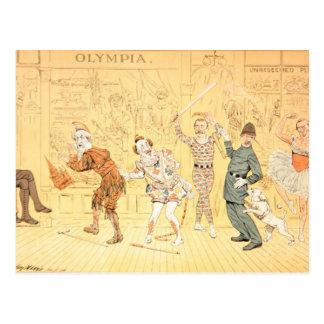 St. Stephen's Pantomime Postcard