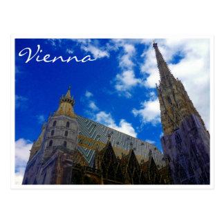 st stephens vienna blue post card