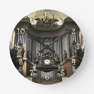 St Sulpice Cavaillé-Coll organ Round Clock