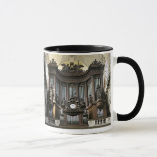 St Sulpice mug with coloured rim