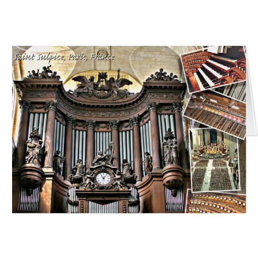St Sulpice organ cards
