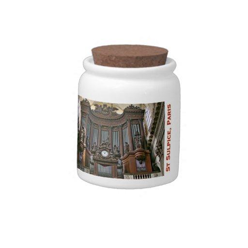 St Sulpice, Paris Candy Jar