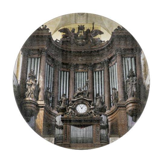 St Sulpice pipe organ cutting board