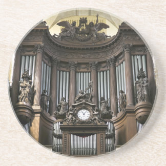 St Sulpice pipe organ Drink Coaster