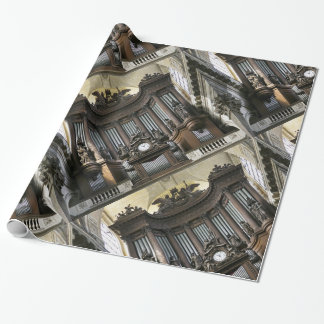 St Sulpice pipe organ paper Wrapping Paper